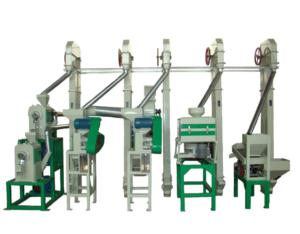 Millet Milling Machine