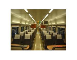 first class coach (CHR1 EMUs)