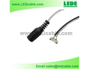 LED Strip Light Connector with DC Jack