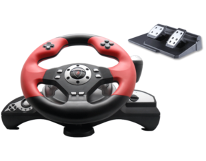 FT39C3 Wired Vibration PC/PS3/PS2 3in1 Racing Whee