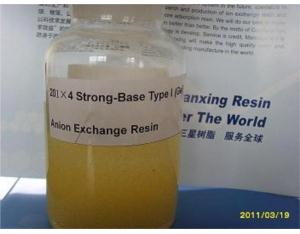 201×4(711)Strong-Base Type I Anion Exchange Resin