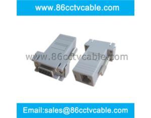 DB9 to RJ45 Modular Adapter