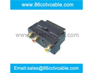 SCART to RCA converter, SCART to RCA Socket