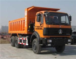 North Benz rear double axles dump truck/tipper