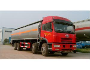 FAW 8*4 fuel tanker truck