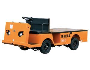 Electric flat truck
