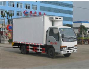 ISUZU 4*2 temperature controlled truck