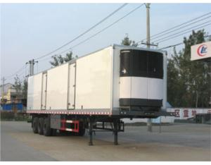 3axles Refrigerated  transport semi-trailer(CLW940
