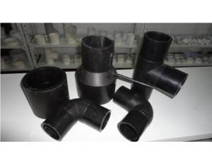 PE 45 degree elbow fitting mould with injection