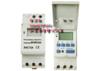 programmable timer switch model DHC15A/TP8A/16