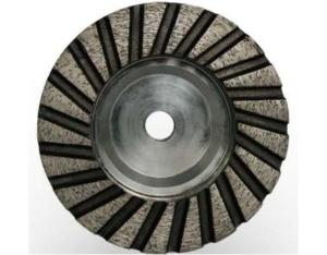 Diamond cup wheel-turbo With Aluminum Core