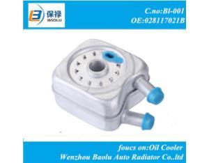 Auto part oil cooler for VW 028117021B