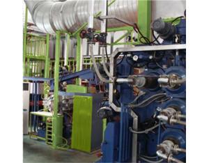 PVC floor mat calendering line