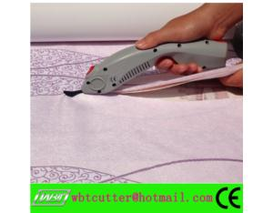industrial cordless electric fabric scissors