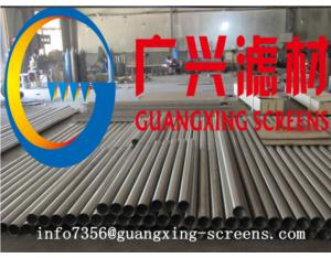 stainless steel water well screen tube(corrosion resistance )