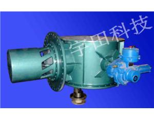 double eccentric butterfly valve for steel and iron plants