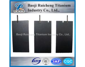 MMO coated Titanium anode for making alkaline water
