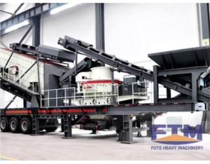 Tire Type Mobile Screening Station