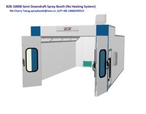 BZB-1000B semi downdraft paint booth
