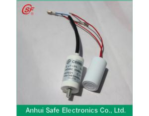 cbb60 50uf 250v capacitor by metalized film for cleaning machine