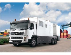 NUCTECH MT1213LH Mobile Container/Vehicle Inspection System
