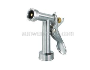 Mid-size metal rear trigger spray gun with threaded front