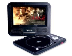 PORTABLE DVD/MP3 PLAYER TF-4388