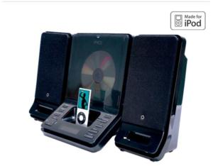 HOME AUDIO SYSTEM FOR IPOD MC-3938