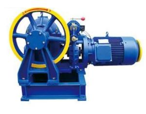 The external control of elevator traction machine