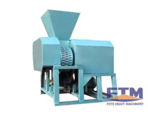 Lignite briquetting machine
