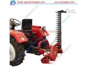 Finger bar mower alfalfa mower