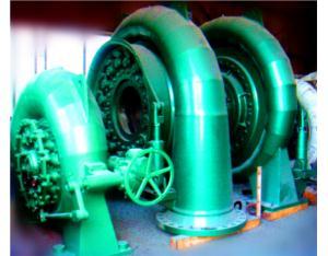 100KW-100MW Hydro Francis Turbine/Francis Turbine Generator