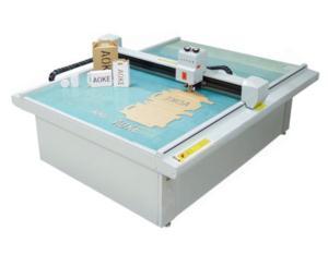 sample maker cutter plotter fltabed table digital short run production Machine function