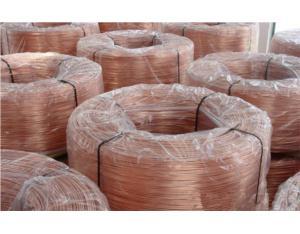 Bare copper conductor