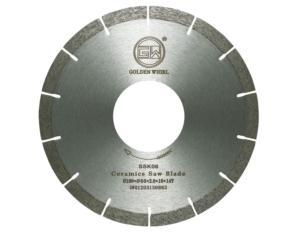 Segmented sintered saw blade 180