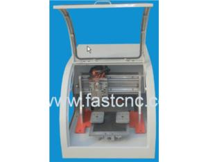 Mini cnc router with vacuum adsorption system