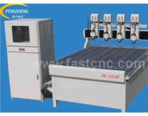 Multi-head cnc engraver PC-1313F