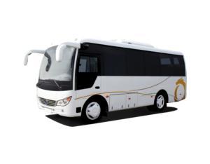 Slk6750AC Mini Passenger Bus