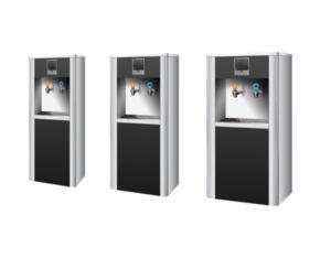Step-heating water dispenser
