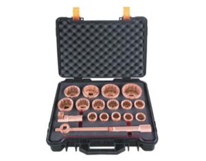 Non Sparking Non Magnetic Safety Tools Socket Set,18 Pcs 1
