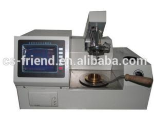 Automatic closed cup flash point tester of petroleum products