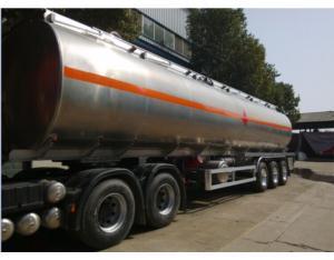 Aluminum Alloy Oil Tanker Semi Trailers
