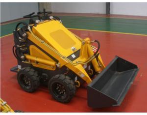 Mini wheeled loader on sale, Petrol powered mini skid steer loader, hy380 skidsteer