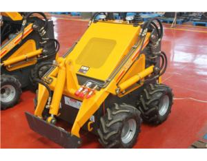 hy380 mini skid steer loader with hydraulic breaker, mini loader with hammer, skid steer loader with