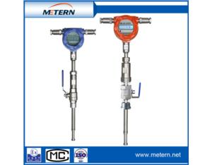 Thermal gas mass flowmeter