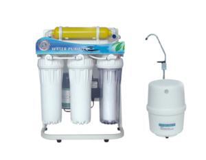 Under sink Ro water filter with stand