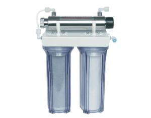 Under sink water filter purifier with UV