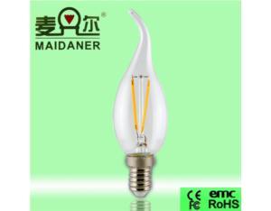 energy saving LED Filament global bulb 2W/3W/4W