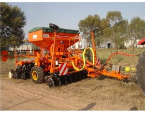 Forage no-tillage seeder