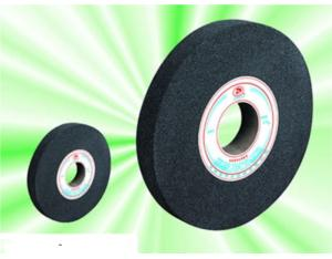 Black silicon carbide abrasive wheel